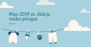 2019 vaiko pinigai norvegijoje