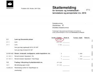 norvegijos pajamos 2018