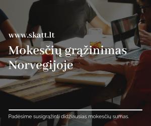 Mokesčių grąžinimas Norvegijoje