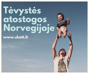 Tėvystės atostogos Norvegijoje